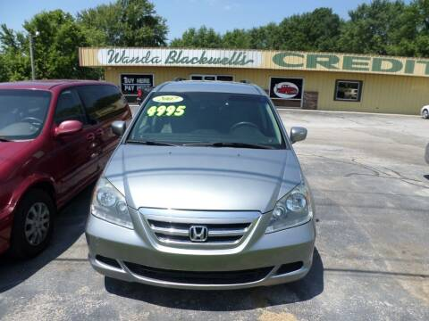 2007 Honda Odyssey for sale at Credit Cars of NWA in Bentonville AR