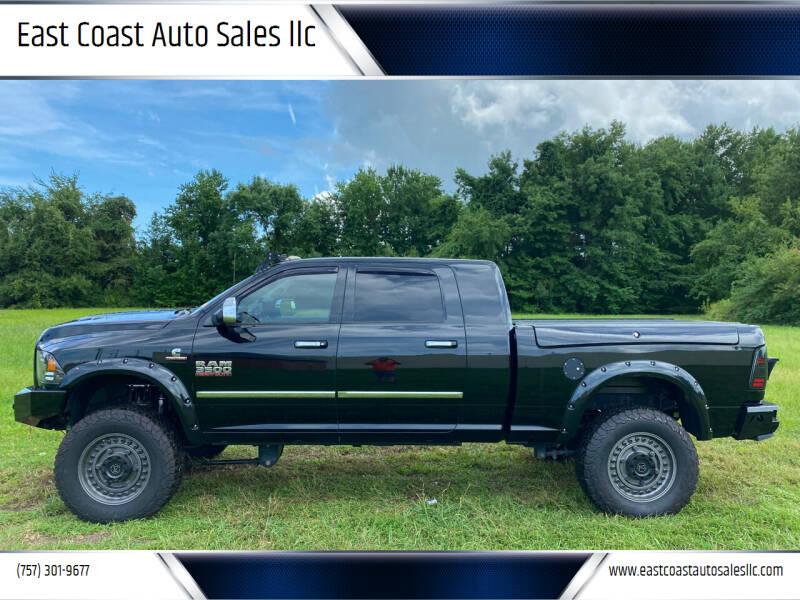 2015 RAM Ram Pickup 3500 for sale at East Coast Auto Sales llc in Virginia Beach VA