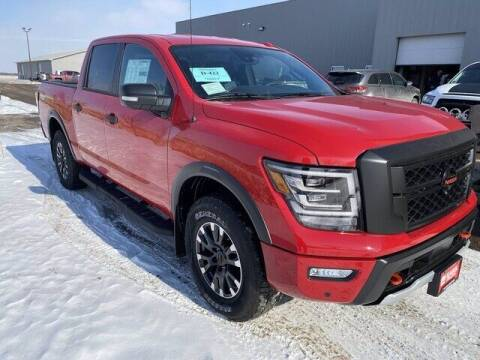 2021 Nissan Titan for sale at Harr's Redfield Ford in Redfield SD