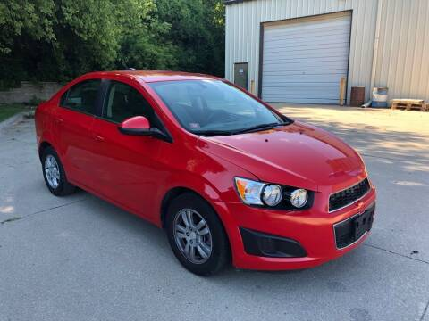 2016 Chevrolet Sonic for sale at Divine Auto Sales LLC in Omaha NE