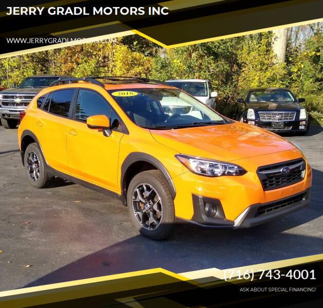2018 Subaru Crosstrek for sale at JERRY GRADL MOTORS INC in North Tonawanda NY