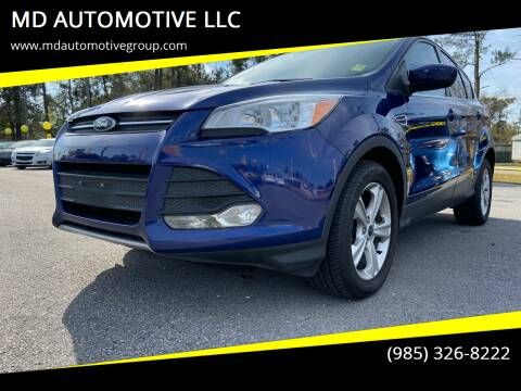 2014 Ford Escape for sale at MD AUTOMOTIVE LLC in Slidell LA