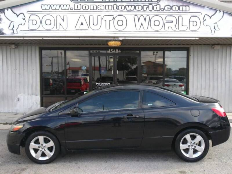 2007 Honda Civic for sale at Don Auto World in Houston TX