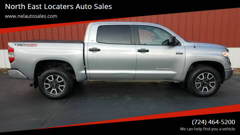 2015 Toyota Tundra for sale at North East Locaters Auto Sales in Indiana PA