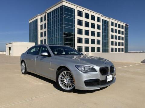 2014 BMW 7 Series for sale at SIGNATURE Sales & Consignment in Austin TX