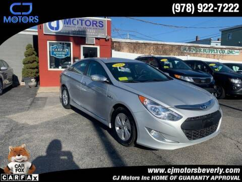 2014 Hyundai Sonata Hybrid for sale at CJ Motors Inc. in Beverly MA