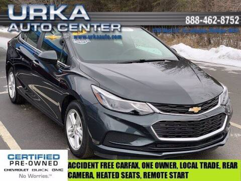 2018 Chevrolet Cruze for sale at Urka Auto Center in Ludington MI