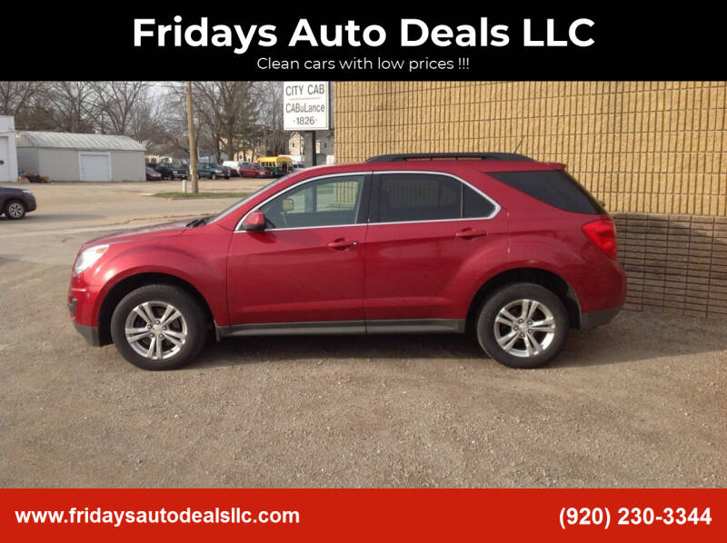 2014 Chevrolet Equinox for sale at Fridays Auto Deals LLC in Oshkosh WI