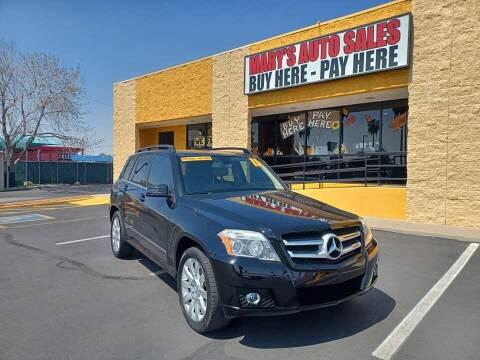 2011 Mercedes-Benz GLK for sale at Marys Auto Sales in Phoenix AZ
