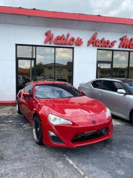 2013 Scion FR-S for sale at Nation Autos Miami in Hialeah FL