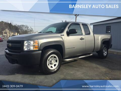 2009 Chevrolet Silverado 1500 for sale at Barnsley Auto Sales in Oxford PA