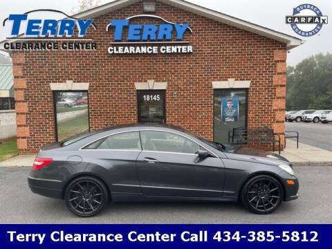 2010 Mercedes-Benz E-Class for sale at Terry Clearance Center in Lynchburg VA