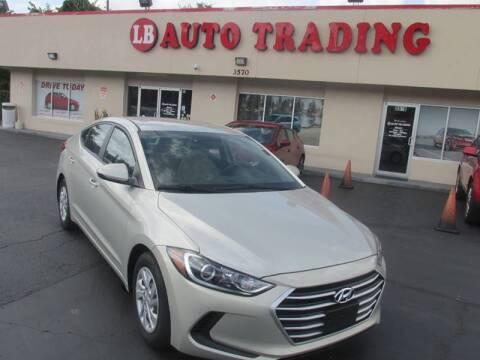 2017 Hyundai Elantra for sale at LB Auto Trading in Orlando FL