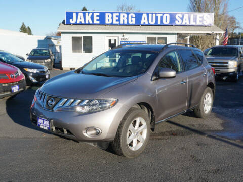 2009 Nissan Murano for sale at Jake Berg Auto Sales in Gladstone OR
