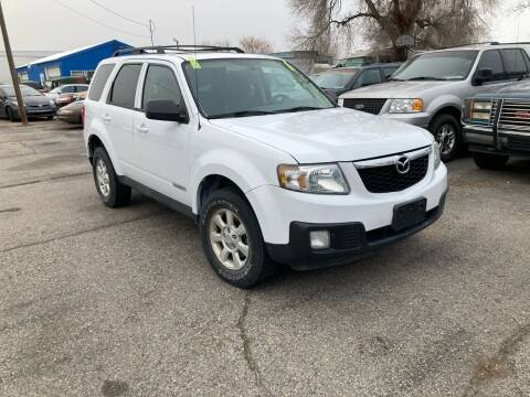2008 Mazda Tribute for sale at AFFORDABLY PRICED CARS LLC in Mountain Home ID