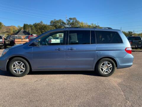 2007 Honda Odyssey for sale at RIVERSIDE AUTO SALES in Sioux City IA