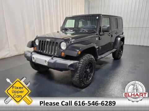 2008 Jeep Wrangler Unlimited for sale at Elhart Automotive Campus in Holland MI