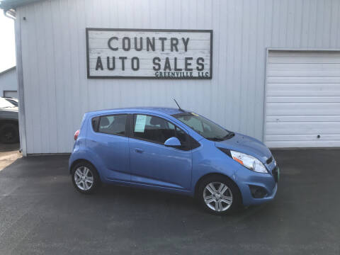 2014 Chevrolet Spark for sale at COUNTRY AUTO SALES LLC in Greenville OH