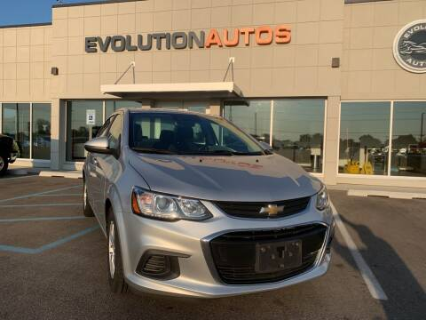 2017 Chevrolet Sonic for sale at Evolution Autos in Whiteland IN