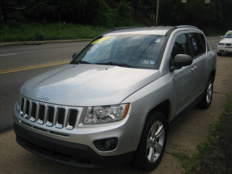 2011 Jeep Compass for sale at B. Fields Motors, INC in Pittsburgh PA