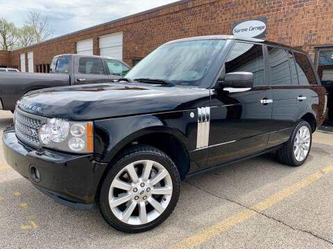 2008 Land Rover Range Rover for sale at Supreme Carriage in Wauconda IL