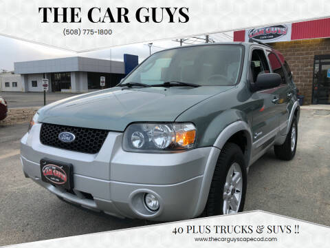 2007 Ford Escape Hybrid for sale at The Car Guys in Hyannis MA