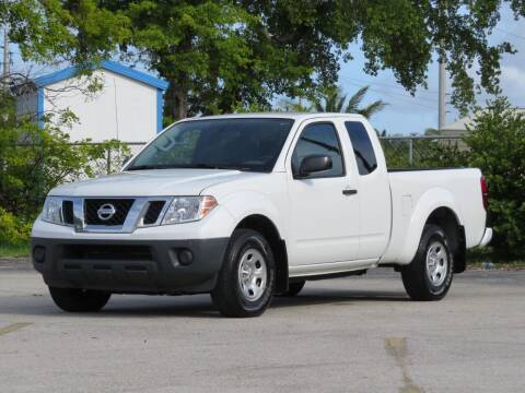 2018 Nissan Frontier for sale at DK Auto Sales in Hollywood FL