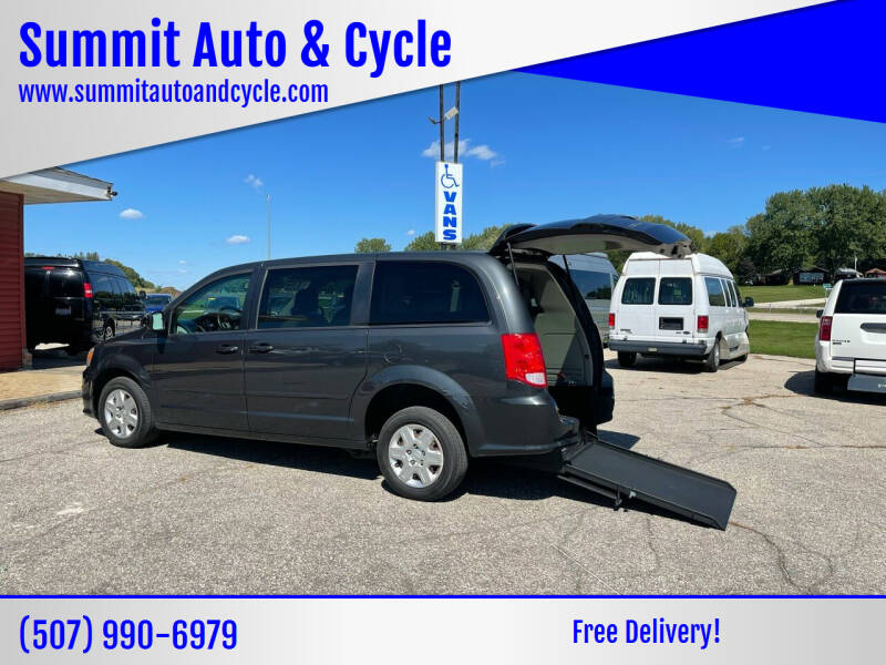 2012 Dodge Grand Caravan for sale at Summit Auto & Cycle in Zumbrota MN