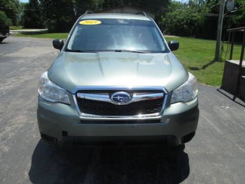 2015 Subaru Forester for sale at Knauff & Sons Motor Sales in New Vienna OH
