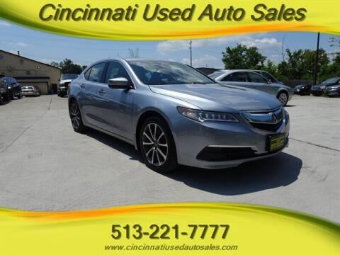 2015 Acura TLX for sale at Cincinnati Used Auto Sales in Cincinnati OH