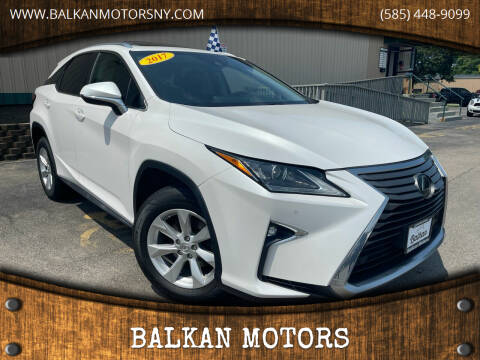 2017 Lexus RX 350 for sale at BALKAN MOTORS in East Rochester NY