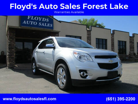 2014 Chevrolet Equinox for sale at Floyd's Auto Sales Forest Lake in Forest Lake MN