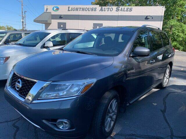2014 Nissan Pathfinder for sale at Lighthouse Auto Sales in Holland MI