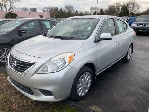 2012 Nissan Versa for sale at Lakeshore Auto Wholesalers in Amherst OH
