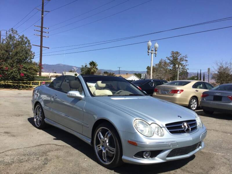 2007 Mercedes-Benz CLK for sale at AutoHaus in Colton CA