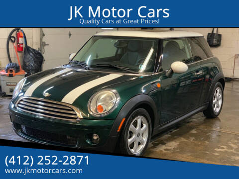 2008 MINI Cooper for sale at JK Motor Cars in Pittsburgh PA