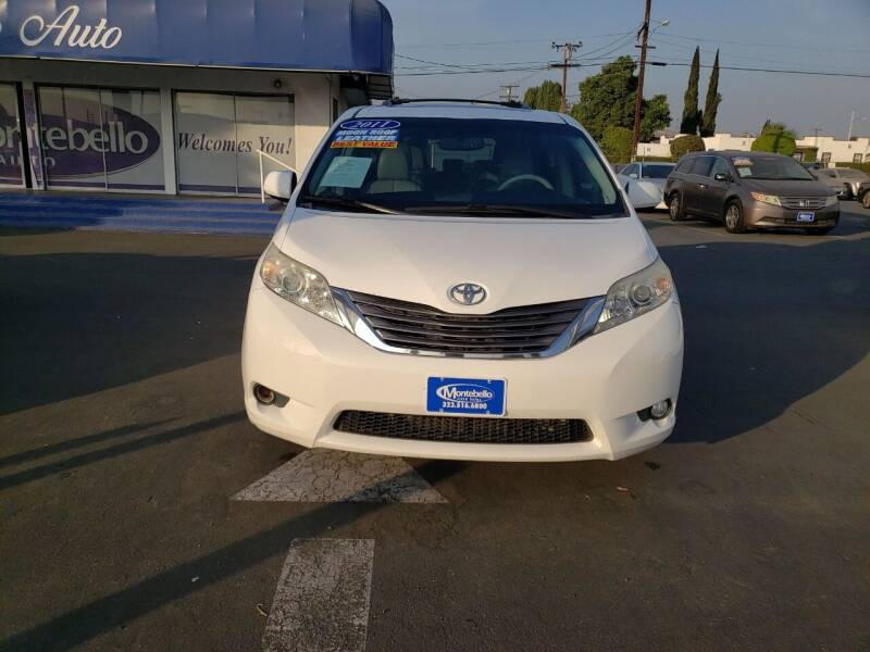 2011 Toyota Sienna for sale at Montebello Auto Sales in Montebello CA