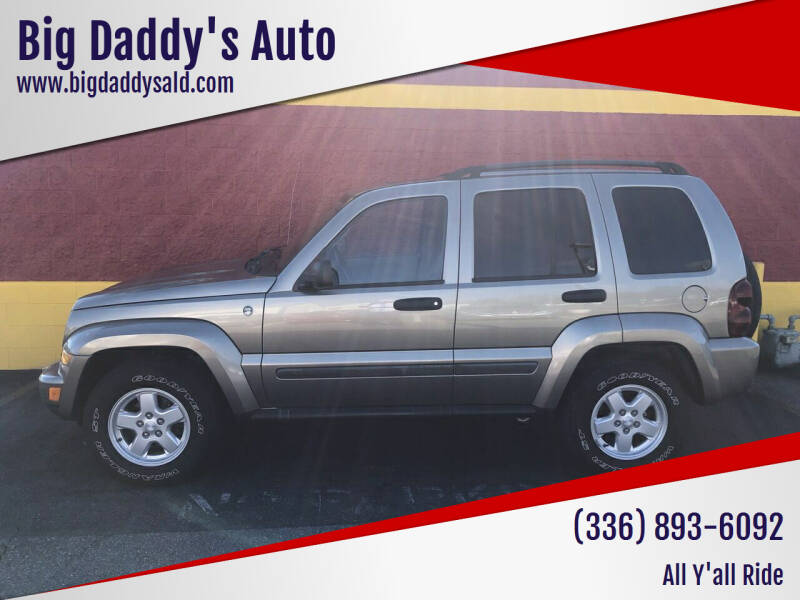 2007 Jeep Liberty for sale at Big Daddy's Auto in Winston-Salem NC