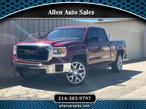 2015 GMC Sierra 1500 for sale at Allen Auto Sales in Dallas TX