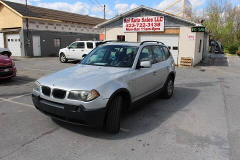 2005 BMW X3 for sale at SAI Auto Sales - Used Cars in Johnson City TN