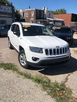 2014 Jeep Compass for sale at Z & A Auto Sales in Philadelphia PA