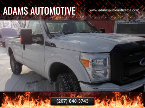 2016 Ford F-350 Super Duty for sale at Adams Automotive in Hermon ME