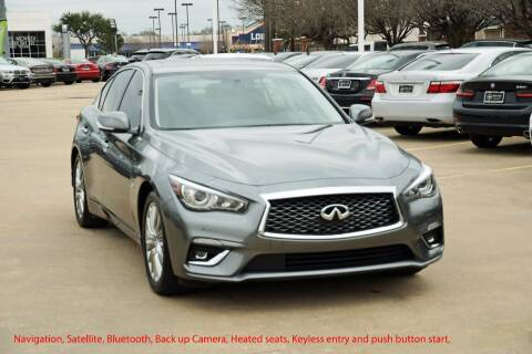 2019 Infiniti Q50 for sale at Silver Star Motorcars in Dallas TX