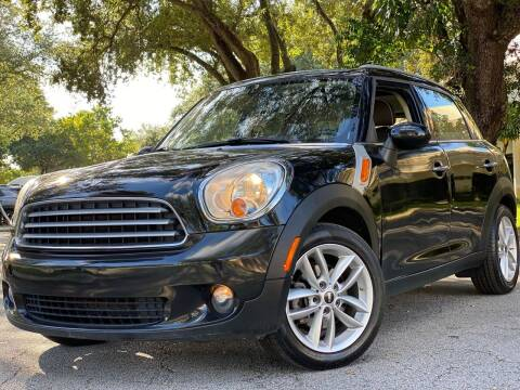 2013 MINI Countryman for sale at HIGH PERFORMANCE MOTORS in Hollywood FL