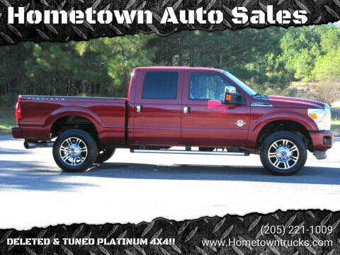 2014 Ford F-350 Super Duty for sale at Hometown Auto Sales - Trucks in Jasper AL