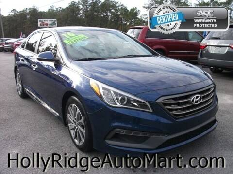 2016 Hyundai Sonata for sale at Holly Ridge Auto Mart in Holly Ridge NC