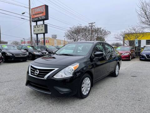2018 Nissan Versa for sale at Autohaus of Greensboro in Greensboro NC