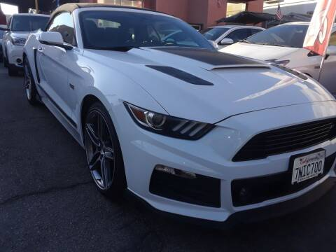 2015 Ford Mustang for sale at Western Motors Inc in Los Angeles CA