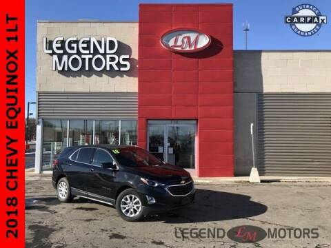 2018 Chevrolet Equinox for sale at Legend Motors of Detroit - Legend Motors of Ferndale in Ferndale MI