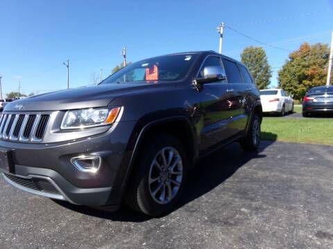 2015 Jeep Grand Cherokee for sale at Pool Auto Sales Inc in Spencerport NY